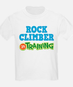 Rock Climber in Training T-Shirt