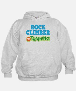 Rock Climber in Training Hoodie