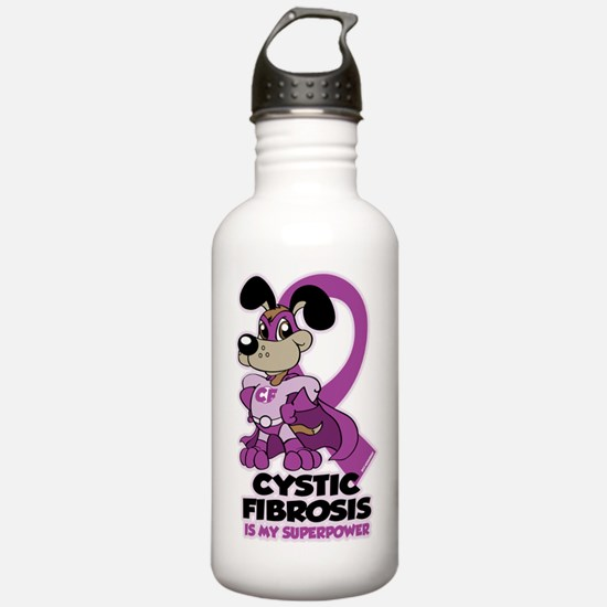 Cystic Fibrosis Is My Superpower Sports Water Bottle