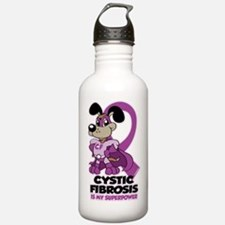Cystic Fibrosis Is My Superpower Water Bottle