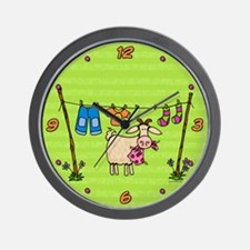 Bad Goat Wall Clock