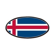 Icelandic Flag Patches