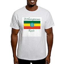 Ethiopian roots Ash Grey T-Shirt