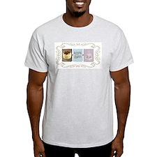 Sweet Sanity Diva Ash Grey T-Shirt