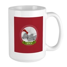 Photo Frame with Year Red Mugs