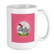 Photo Frame with Year Pink Mugs