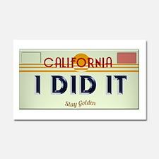I Did It Plate Car Magnet 20 x 12