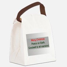 peace on earth.png Canvas Lunch Bag