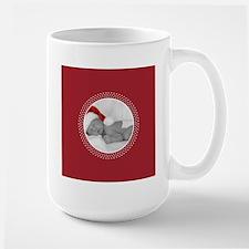 Photo Frame Red Polka Dots Mugs