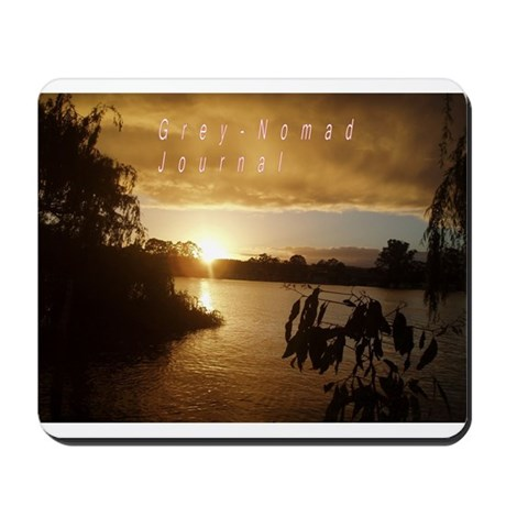 Grey nomad Mousepad