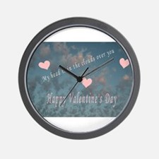 valentines day.png Wall Clock