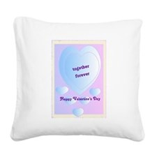 3-valentines day.png Square Canvas Pillow