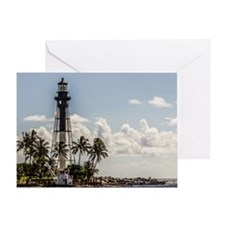 Hillsboro Inlet Lighthouse Greeting Card