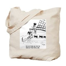 Pirates Get Dental Care Tote Bag
