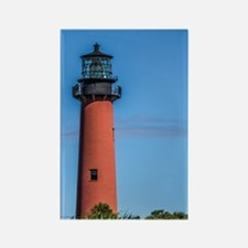 Jupiter Inlet Lighthouse Rectangle Magnet