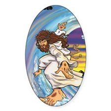 "Big Jesus ""Walk on Water"" Decal"
