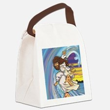 "Big Jesus ""Walk on Water"" Canvas Lunch Bag"