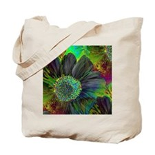 Touch of Class with a hint of Floral Tote Bag