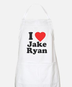 I Love Jake Ryan Apron