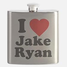 I Love Jake Ryan Flask