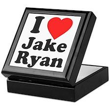I Love Jake Ryan Keepsake Box