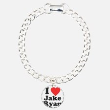 I Love Jake Ryan Charm Bracelet, One Charm