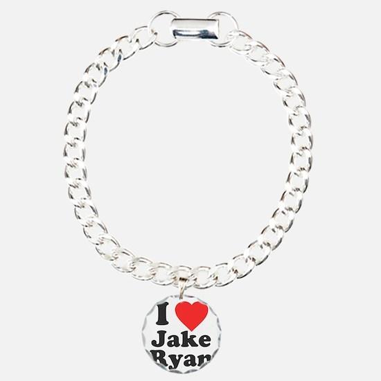 I Love Jake Ryan Charm Bracelet, One Charm