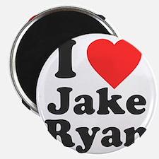 I Love Jake Ryan Magnet