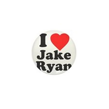 I Love Jake Ryan Mini Button