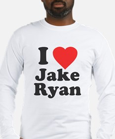 I Love Jake Ryan Long Sleeve T-Shirt