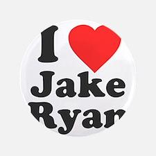 """I Love Jake Ryan 3.5"""" Button"""