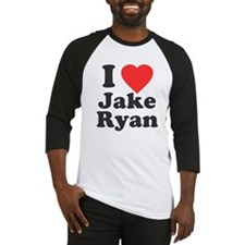 I Love Jake Ryan Baseball Jersey