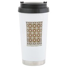 Rose of Sharon Quilt Travel Mug