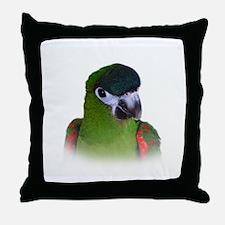 Hahns Macaw.jpg Throw Pillow
