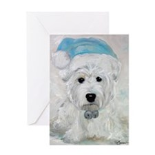 Tarheel Santa Greeting Card