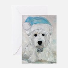 Tarheel Santa Greeting Card