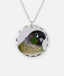 Green Cheek Conure.jpg Necklace