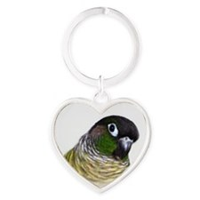 Green Cheek Conure.jpg Keychains