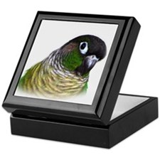 Green Cheek Conure.jpg Keepsake Box