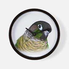 Green Cheek Conure.jpg Wall Clock
