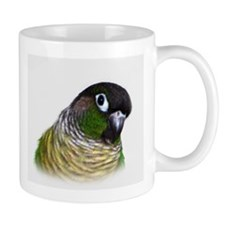 Green Cheek Conure.jpg Mugs