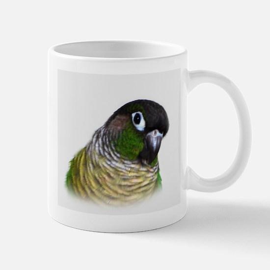 Green Cheek Conure.jpg Mugs