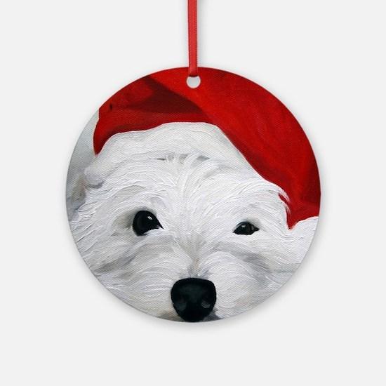 Bah Humbug! Round Ornament