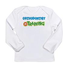 Orthodontist in Training Long Sleeve Infant T-Shir