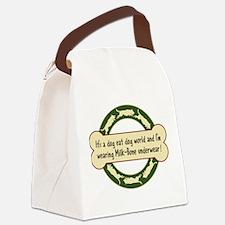 Dog Eat Dog World - Canvas Lunch Bag
