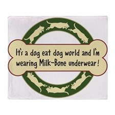 Dog Eat Dog World - Throw Blanket