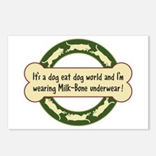 Dog Eat Dog World - Postcards (Package of 8)