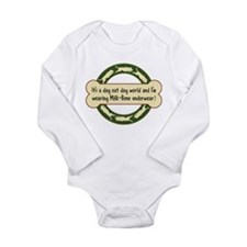 Dog Eat Dog World - Long Sleeve Infant Bodysuit