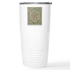 Grandmother's Garden Quilt Travel Mug