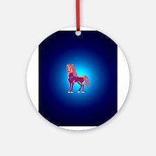 Happy mare Ornament (Round)